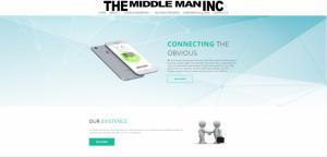 The Middle Man Inc Web Design Blue Studio62